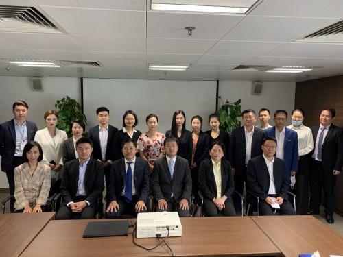 A delegation led by Chen Hongliang, Vice President of CCPIT Hainan Sub-Council visits CCILC-Macau