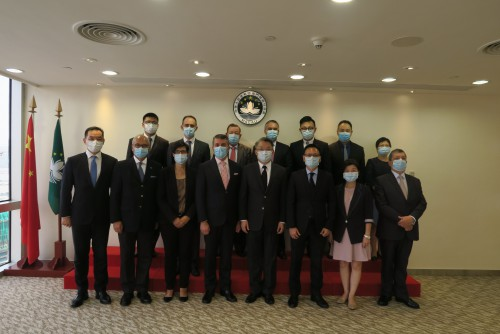 CCILC pays visit to Secretary for Economy and Finance Lei Wai Nong