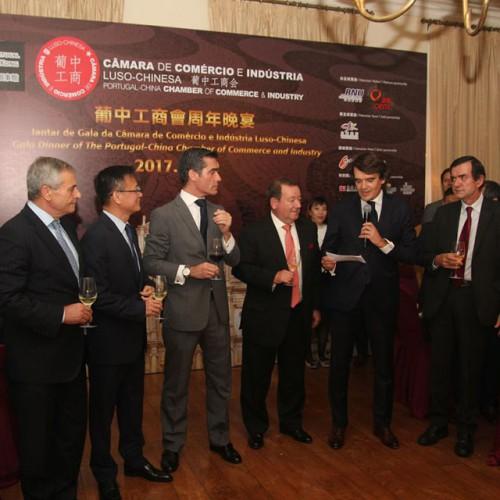 Delegação de Macau da Câmara de Comércio e Indústria Luso-Chinesa organiza Jantar de Gala Anual 2017