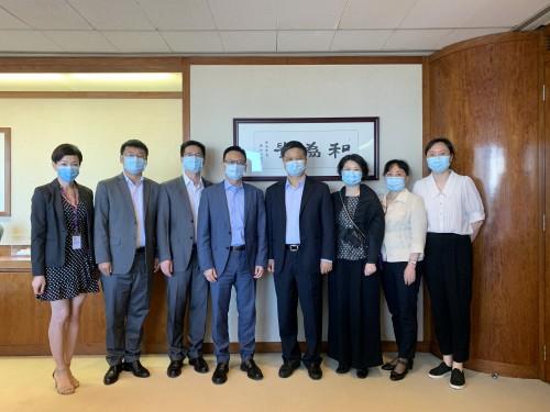 A CCILC-Macau recebeu a visita do Departamento Provincial de Comércio de Zhejiang