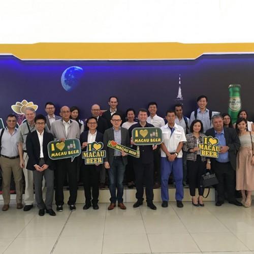 葡中工商會參觀澳門啤酒 (Macau Beer) 2018
