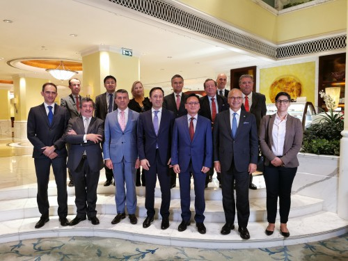 葡中工商會澳門分會為葡萄牙駐華大使舉行歡迎晚宴